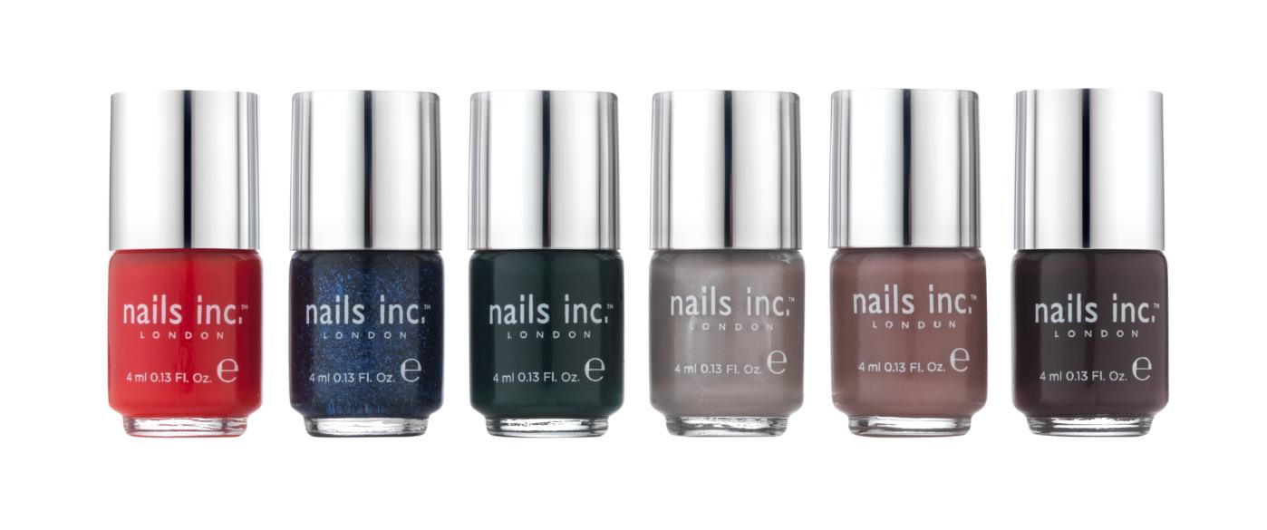 Colección Otoño Invierno para 2013 de Nails Inc